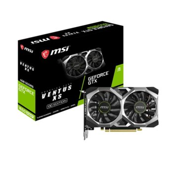 Видео карта Nvidia GeForce GTX 1650, 4GB, MSI SUPER VENTUS XS OC, PCI-E, GDDR6, 128-bit, DisplayPort, HDMI, DVI image