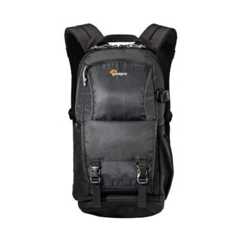 Чанта за фотоапарат Lowepro Fastpack 150 II AW за DSLR фотоапарати, черна image