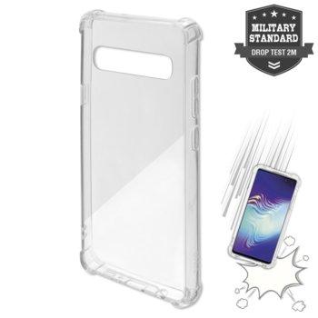 Калъф за Samsung Galaxy S10 5G, хибриден, 4Smarts Hard Cover Ibiza 4S467506, удароустойчив, прозрачен image