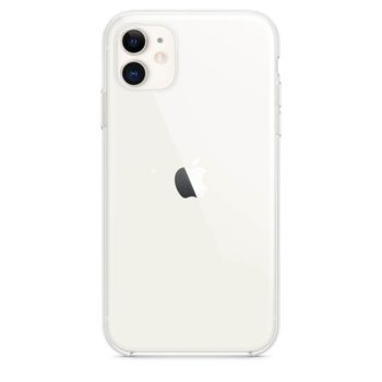 Калъф за Apple iPhone 11, хибриден, Apple Clear Case MWVG2ZM/A, прозрачен image