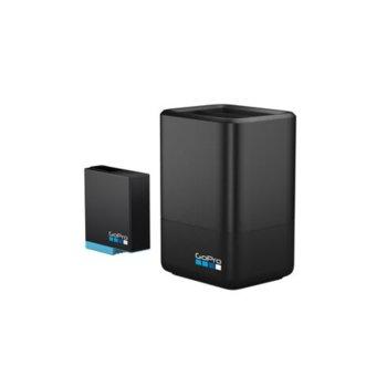 Зарядно устройство GoPro Dual Battery Charger в комплект с батерия 1220mAh, съвместимо с батерии за камерa GoPro HERO8 Black/ HERO7 Black image