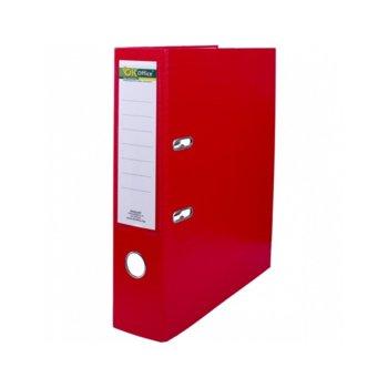 Класьор, за документи с формат до А4, дебелина 8см, червен image