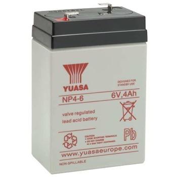 Акумулаторна батерия Yuasa NP4-6, 6V, 4Ah, VRLA image
