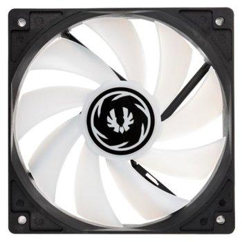 Вентилатор 120mm BitFenix Spectre Addressable RGB, 4-pin, 1200 rpm, бял, RGB подсветка image