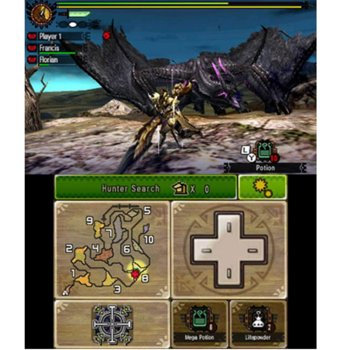 GCONGMONSTER4HUNTERULTI3DS