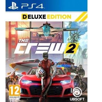 Игра за конзола The Crew 2 Deluxe Edition, за PS4 image