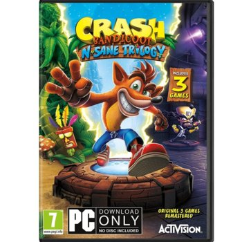 Игра Crash Bandicoot N. Sane Trilogy, за PC image