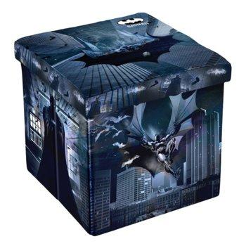 Табуретка Disney Batman, 3 в 1, MDF и текстил, до 150 kg, черна image