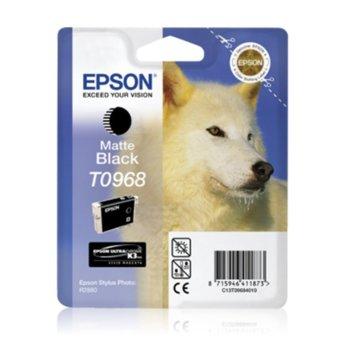 ГЛАВА ЗА EPSON Stylus Photo R2880 - Matte Black - T0968 - P№ C13T09684010 - 11.4ml image