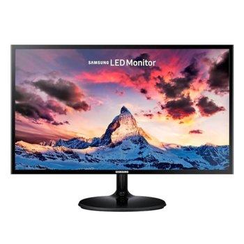 """Монитор Samsung S24F354FHU (LS24F354FHUXEN), 24"""" (60.96cm) PLS панел, FullHD, 4ms, 5 000 000:1, 250cd/m2,HDMI, D-SUB, AMD FreeSync image"""