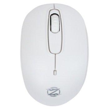 Мишка ZornWee W110, 1600dpi, безжична, бяла  image