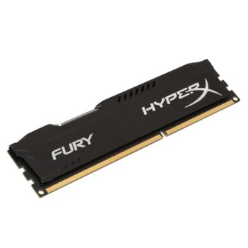 Памет 4GB DDR3 1600MHz, Kingston HyperX Fury (черна) image