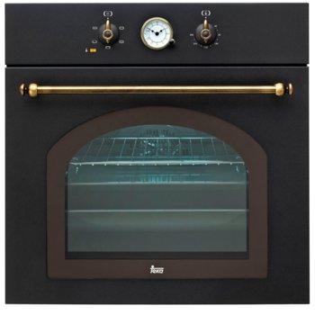 Фурна за вграждане Teka HR 550, 65л. обем, 5 програми, ретро дизайн, охлаждаща система с вентилатор и сместителна камера, енергиен клас А, антрацит image