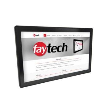 "Индустриален компютър Faytech FT27N4200CAPOB 1010501703, четириядрен Apollo Lake Intel Pentium N4200 1.1/2.5 GHz, 27"" (68.58 cm) Full HD Anti-Glare Touchscreen Display, 4GB, 128GB SSD Industrial Grade, 2x USB 3.0, Linux image"
