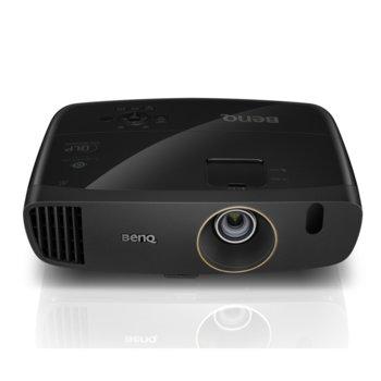 Проектор BenQ W2000+, DLP, 3D Ready, DLP, Full HD (1920x1080), 15 000:1, 2200 lm, 3x HDMI, 1x VGA, 1xUSB A, 1xUSB B, 1xUSB Type Mini B image