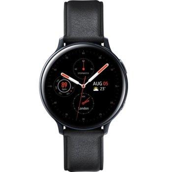 Смарт часовник Samsung Galaxy Watch Active2 SM-R820N (SM-R820NSSABGL), до 131 часа време за работа, неръждаема стомана, черен image