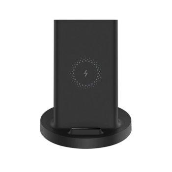 Безжично зарядно устройство Xiaomi Mi 20W Wireless Charging Stand, USB Type C, 16V/1.7A, черно image