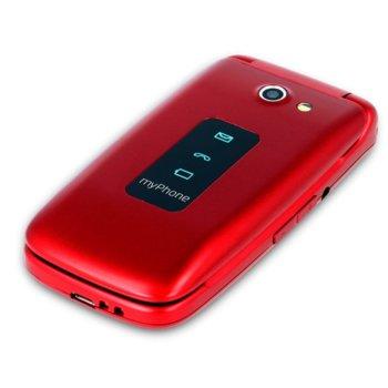 """GSM myPhone Rumba (червен), 2.4"""" (6.096 cm) LCD QVGA дисплей, 0.3 Mpix Camera image"""