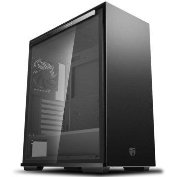 Кутия DeepCool MACUBE310P BK, ATX, 2 x USB3.0, черна, без захранване image