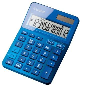 Калкулатор Canon LS-123K, функция за данъчни изчисления, син image