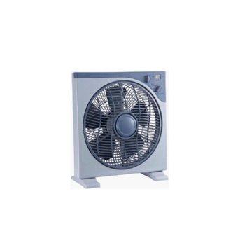 Настолен вентилатор Crown CDF-1242, 40cm диаметър, таймер, 3 скорости на работа, 40W image
