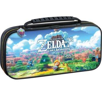 Калъф Big Ben Interactive Travel Case Link's Awakening, за Nintendo Switch, черен image