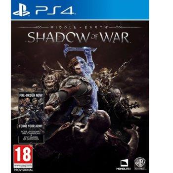 Игра за конзола Middle-Earth: Shadow of War, за PS4 image