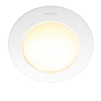 Смарт лампа Philips Hue Phoenix 31155/31/PH, настолна, WiFi, 340 lm, 2200K - 6500K бяла атмосфера, бяла image