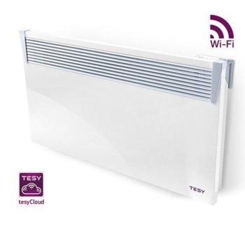 Конвектор Tesy CN 03 200 EIS CLOUD W, вграден Wi-Fi модул за управление през интернет, защита срещу прегряване, електронен терморегулатор, 2000W, бял image