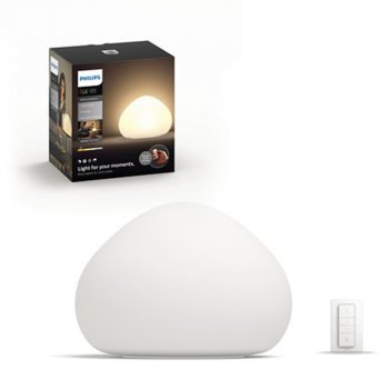 LED настолна лампа Philips HUE Wellner, 9.5W, бяла image