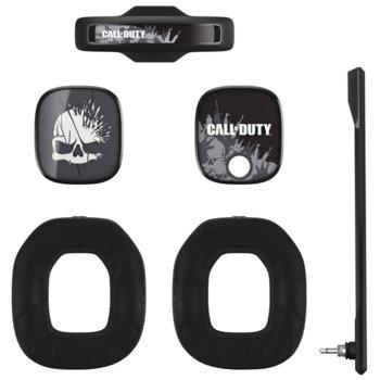 Аксесоари за слушалки Astro A40 TR Call of Duty Mod Kit (939-001548), включва звукоизолиращ микрофон / подплатена лента за глава / шумоизолиращи възглавици / силиконови прегради, черни image