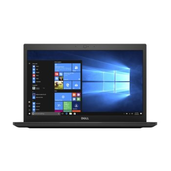 "Лаптоп Dell Latitude 7490 (N080L749014EMEA_UBU-14), четириядрен Kaby Lake R Intel Core i7-8650U 1.9/4.2 GHz, 14.0"" (35.56 cm) Full HD Anti-Glare Display, (HDMI), 8GB DDR4, 256GB SSD, Thunderbolt 3, Linux, 1.40 kg image"