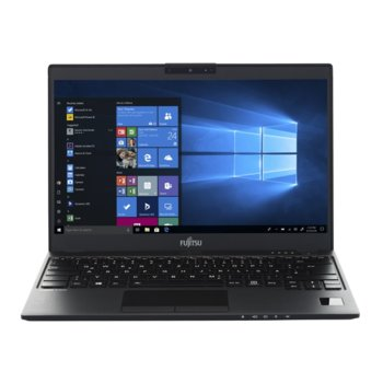 "Лаптоп Fujitsu Lifebook U939 (S26391-K489-V100_500_I7_B), четириядрен Whiskey Lake Intel Core i7-8665U 1.9/4.8 GHz, 13.3"" (33.78 cm) Full HD IPS Anti-glare Display, (HDMI), 16GB, 512GB SSD, 2x Thunderbolt 3, No OS image"
