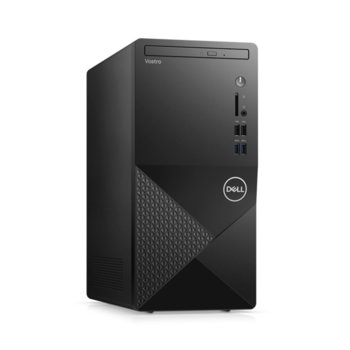 Настолен компютър Dell Vostro 3888 MT (N112VD3888EMEA01_2101_UBU_M), шестядрен Comet Lake Intel Core i5-10400 2.9/4.3 GHz, 8GB DDR4, 256GB SSD, 4x USB 3.1 Gen 1, клавиатура и мишка, Linux image