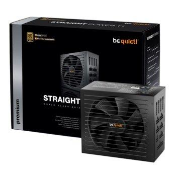 Захранване be quiet! STRAIGHT POWER 11 BN284, 850W, Active PFC, 80+ Gold, изцяло модулно, 135mm вентилатор image