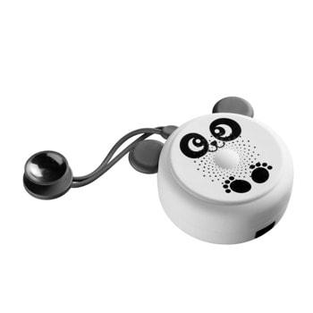Тонколона Cellularline MS Shower панда, 1.0, 3W, до 3 време за работа, Bluetooth, microUSB, водоустойчива, бяла image