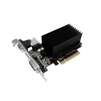 Видео карта Nvidia GeForce GT 730, 2GB, Palit GeForce GT 730, PCI-E 2.0, DDR3, 64 bit, HDMI, DVI, D-Sub image