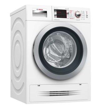 Пералня със сушилня Bosch WVH28420BY SER6, клас А, 7кг. капацитет пералня/4 кг. сушилня, 1400 оборота, свободностояща, 60 cm ширина, бяла image
