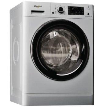 Пералня Whirlpool FWD71284SB, клас A+++, 7 кг. капацитет на пералня, 1200 оборота, свободностояща, 60cm. ширина, 16 програми, сива image