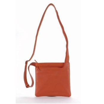 Чанта за аудио устройства TUCANO BFIMIN-O Fina Mini, MP3, iPod, естествена кожа, оранжева image