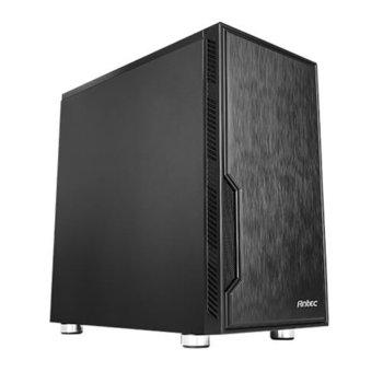 Кутия Antec Value VSK10, Micro-ATX/ITX, 2x USB 3.0, черна, без захранване image