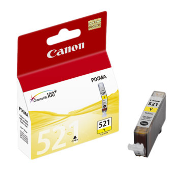 ГЛАВА CANON PIXMA iP 3600/4600/MP540/MP620/MP630/MP980 - Yellow ink tank - P№ 2936B001/ CLI-521Y - заб.: 9ml. image