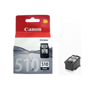 ГЛАВА CANON PIXMA MP240/ MP260/ MP480 - Black ink cartridge - PG-510 - P№BS2970B001AA - заб.: 9ml. image