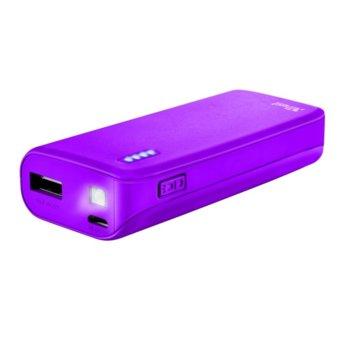 TRUST Primo Power Bank 4400 22060 Neon Purple product