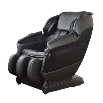 Масажен стол Rexton GJ-6200W, еко кожа, загряване на тялото, L- ТRACK механизъм, черен image