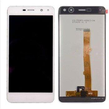 Дисплей за Huawei Y5 2017 / Y6 2017 LCD, с тъч, бял image