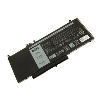 Батерия (оригинална) за лаптоп DELL Latitude, съвместима с модели E5270 E5470 E5570 Precision 15 3000 6MT4T 4кл, 7.6V 4 cell 8100 mAh image