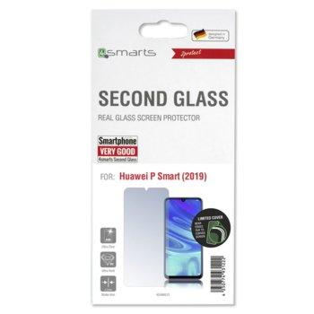 Протектор от закалено стъкло /Tempered Glass/, 4Smarts 4S496013, за Huawei P Smart 2019 image