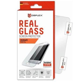 Протектор от закалено стъкло /Tempered Glass/, Displex 00905, за Huawei P20 Pro(прозрачен)  image