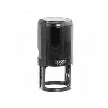 Автоматичен печат Trodat 4642 черен, Ф42mm, кръгъл image